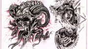Tattoo design 227