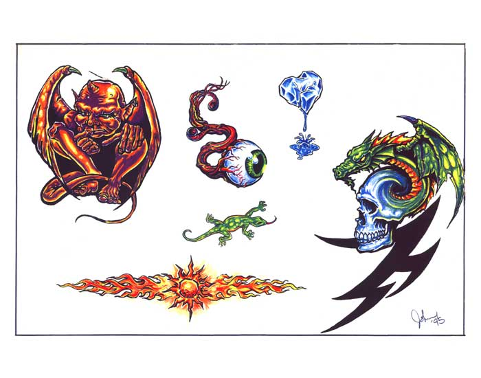 tattoo design 289