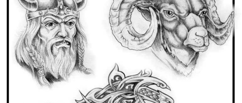 Tattoo designs. Sheet 387. Tattoo drawings by Charlie Art.