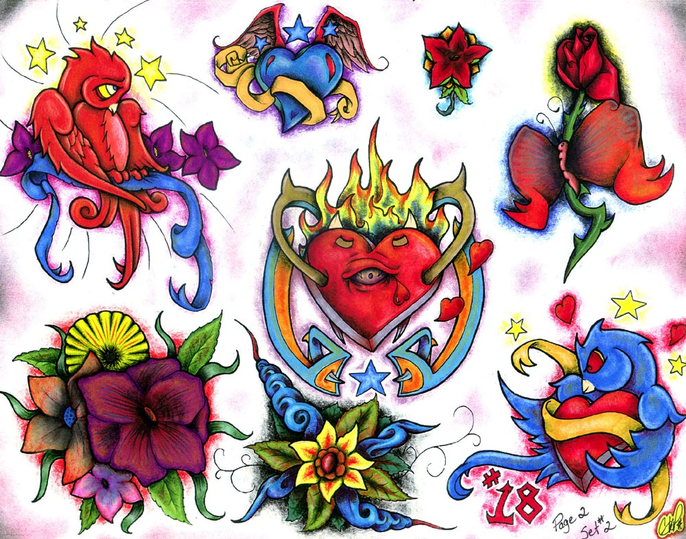 Tattoo designs by George Picket.