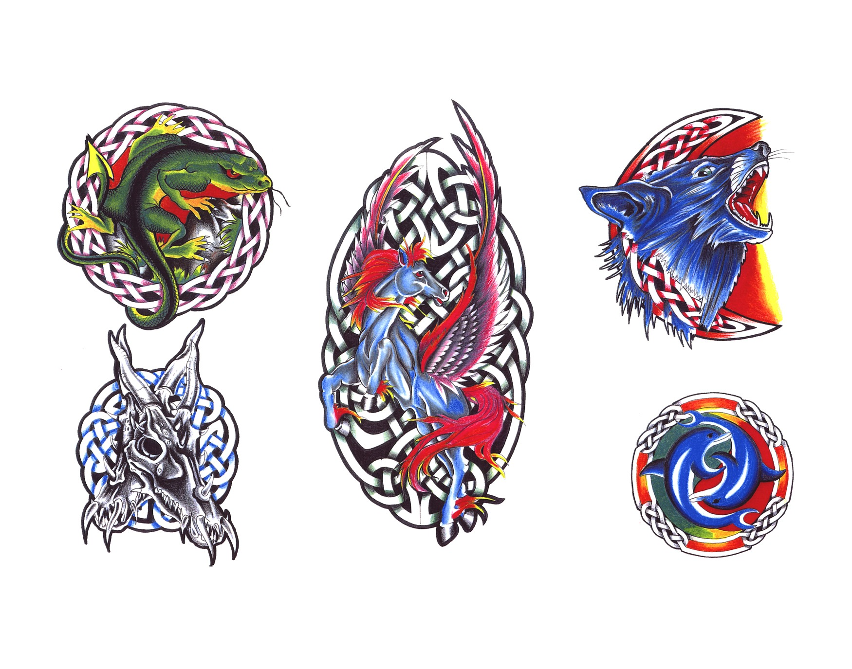Celtic tattoo designs.