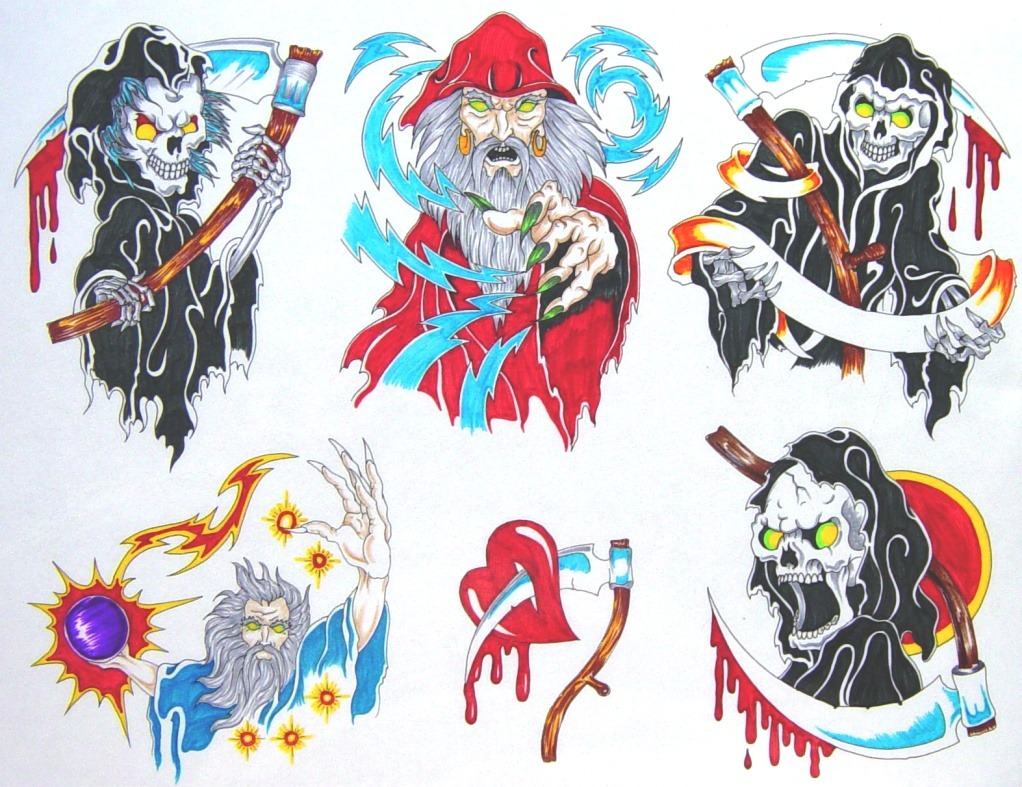 Tattoo designs by Own.