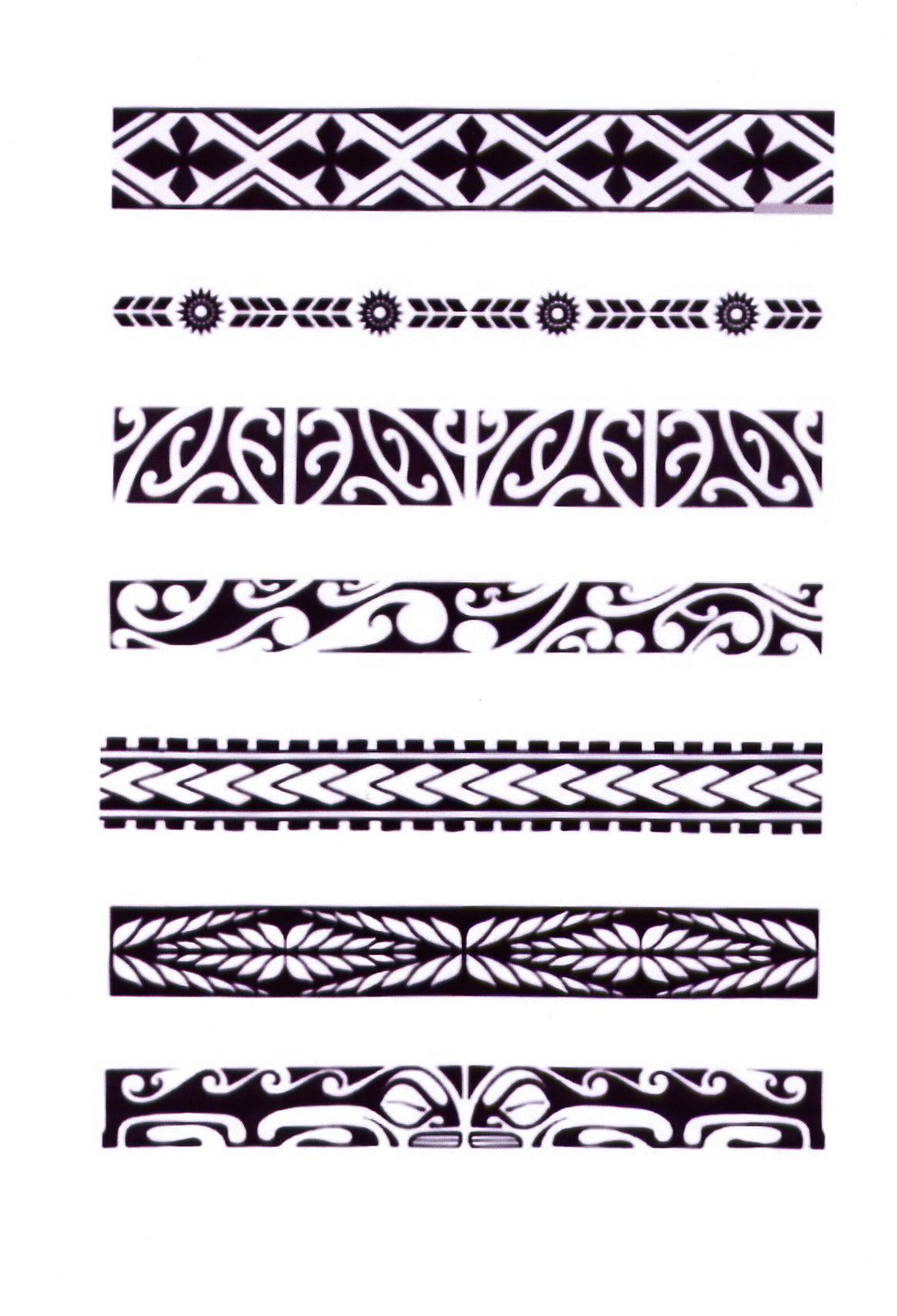 Polynesian tattoo designs