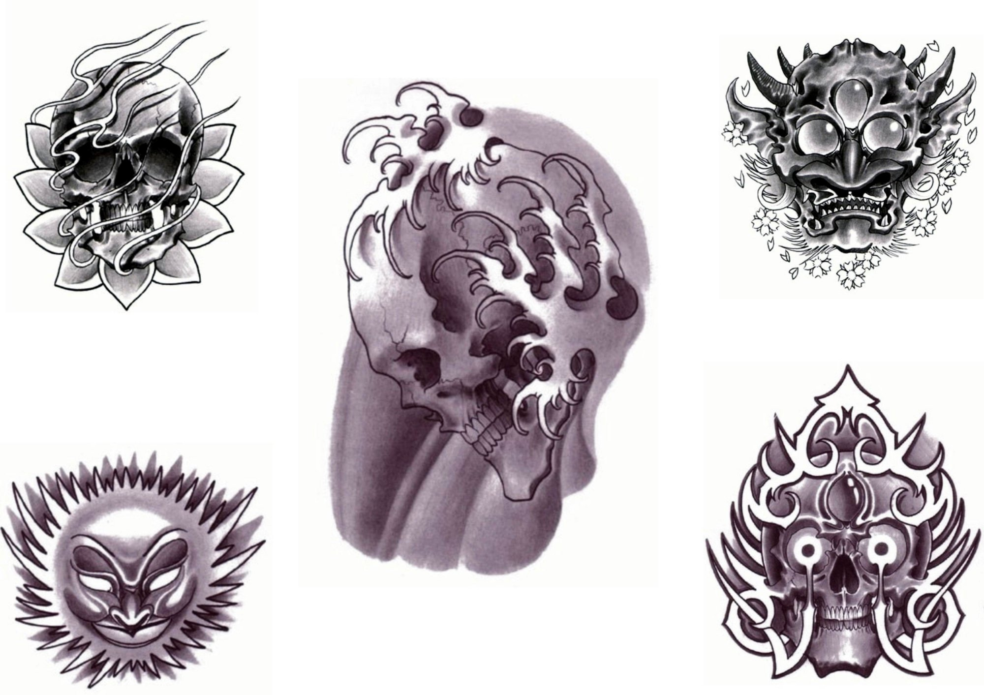 Tattoo designs by Mike Metexa.